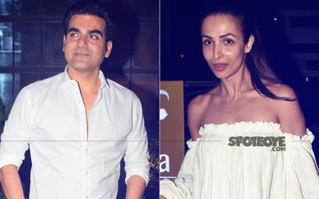 We Are Family: Amidst IPL Betting Controversy, Arbaaz Khan Dines With Malaika Arora & Kids