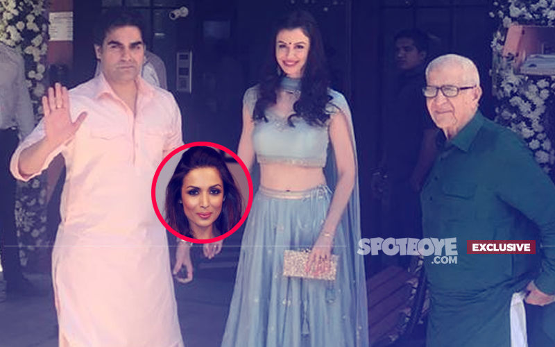 Not Only Ganpati Bappa, Arbaaz Khan's Lover Georgia And Her Dad Too Join The Khan-daan. Malaika Arora, Are You Watching?