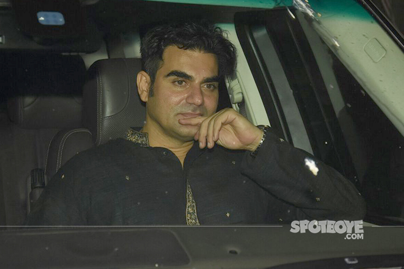 arbaaz khan lost deep in his thoughts