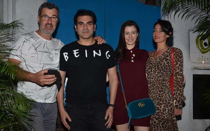 गर्लफ्रेंड जॉर्जिया एंड्रियानी और उनके परिवार के साथ वक्त बिता रहे हैं अरबाज खान
