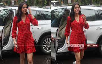 Aree, How Come Was Ananya Panday In Mumbai When Her Pati, Patni Aur Woh Remake Shoot Was Happening In Lucknow?