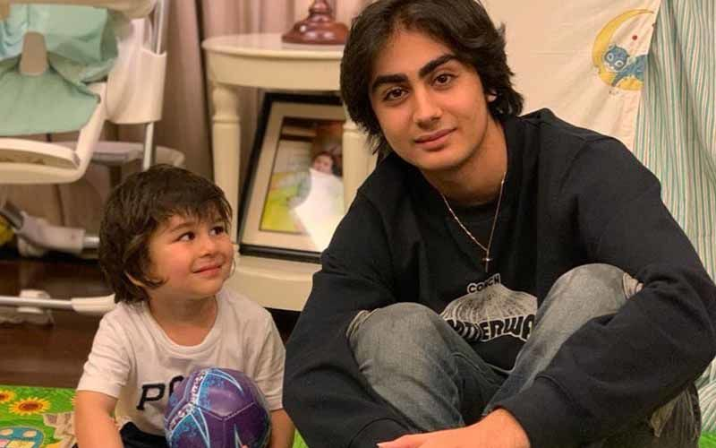 Taimur Ali Khan Is Just Like His 'Expression Queen' Mom Kareena Kapoor Khan, This Pic With Malaika Arora's Son Is Proof