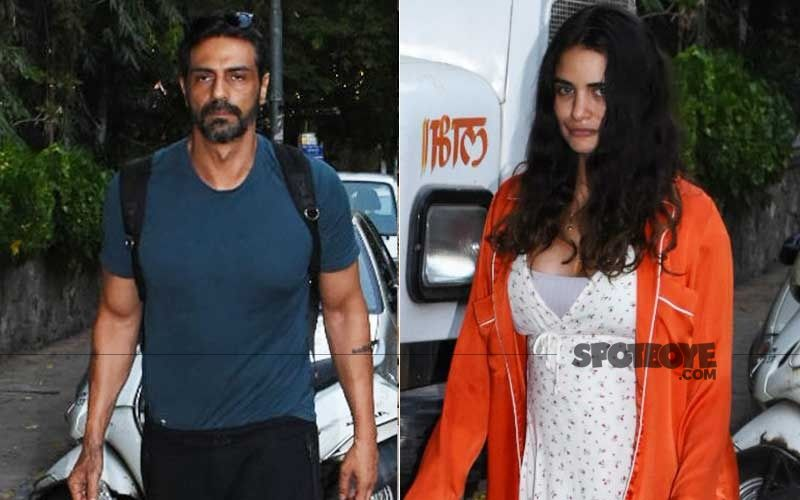Arjun Rampal And Girlfriend Gabriella's First Picture After Announcing Pregnancy