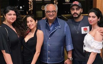Janhvi Kapoor Wishes 'Best Dad And Best Friend' Boney Kapoor; Reveals The Secret To Her Energy, No, It's Not Boost