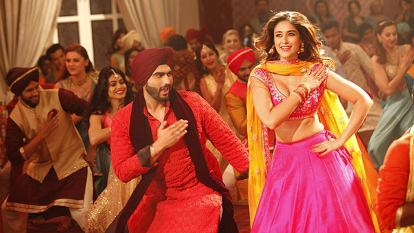 arjun kapoor and illeana d cruz in mubarakan