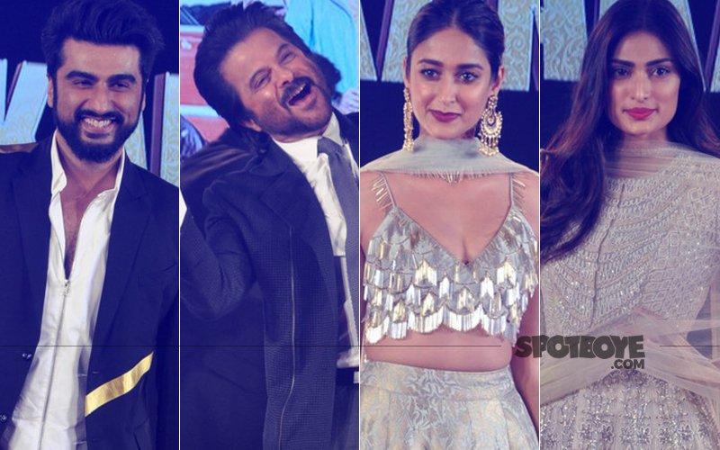 Arjun Kapoor, Anil Kapoor, Ileana D'cruz And Athiya Shetty Enthrall Audiences With Dance Performances At The Mubarakan Sangeet Ceremony