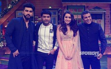 Arjun Kapoor, Shraddha Kapoor & Chetan Bhagat Promote Half Girlfriend At The Kapil Sharma Show