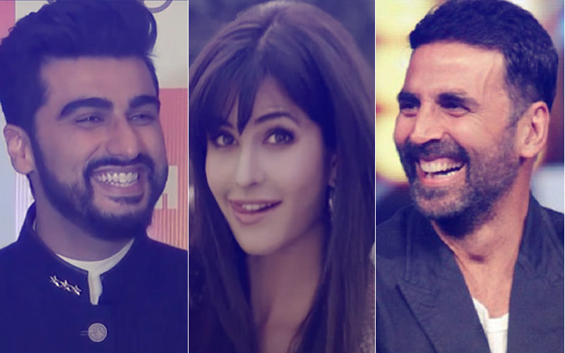 Arjun Kapoor Mocks Katrina Kaif Again; Akshay Kumar Jumps In With A Witty Reply