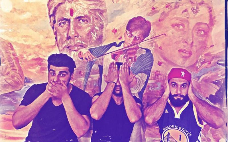 Arjun Kapoor, Ranveer Singh & Ali Abbas Zafar's Twist To Gandhiji's Three Monkeys Will Leave You In Splits