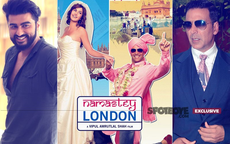 Has Arjun Kapoor Replaced Akshay Kumar In Vipul Shah's Namastey England?
