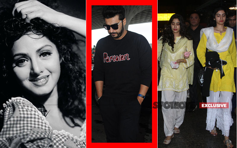 907d029aec ARJUN KAPOOR GETS CANDID  About Rushing To His Dad Post Sridevi s Demise