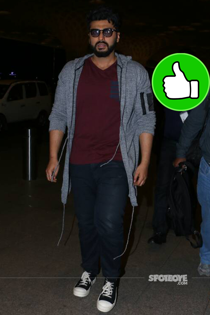 arjun kapoor spotted at the airport