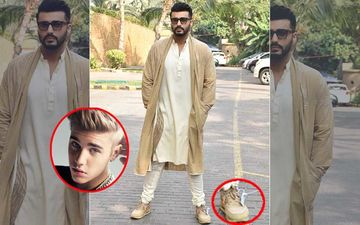 Arjun Kapoor Follows Justin Bieber's 'Foot'steps; Wears Same Nikes That Had Internet Screaming 'Remove Shoe Tag'