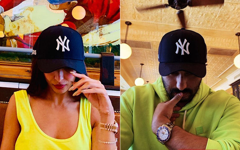 Malaika Arora Steals Arjun Kapoor's New York Yankees Cap For An Insta Shot. Who Wore It Better?