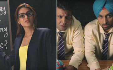Arjun Patiala Episode 1: Kriti Sanon Teaches Marketing To Diljit Dosanjh And Varun Sharma
