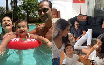 Arjun Rampal And Girlfriend Gabriella Demetriades Celebrate Son Arik's 1st Birthday; Introduce Him For The First Time