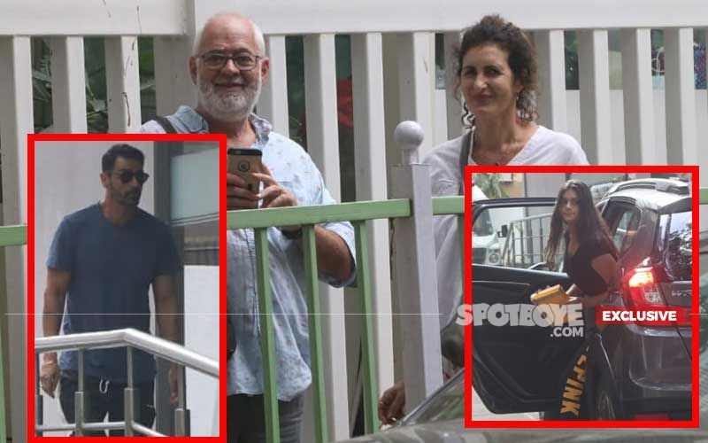 Arjun Rampal's Girlfriend Gabriella Demetriades Admitted To Hinduja Hospital; Rampal's Kids & Gabriella's Parents Spotted Outside: EXCLUSIVE