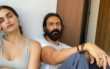 Arjun Rampal's Girlfriend Gabriella Demetriades Flaunts Her Rakhi Bracelet; Her 'AR' Tattoo Catches Our Eyes Though