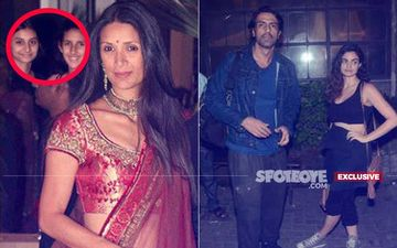 Mehr Jesia Gets Ganpati Home While Arjun Rampal Holidays With Girlfriend, Gabriella Demetriades