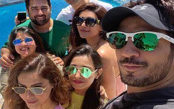 Amidst Coronavirus, A Gang War Takes Place Between Arjun Bijlani, Karishma Tanna And Aamna Sharif Over UNO - PIC