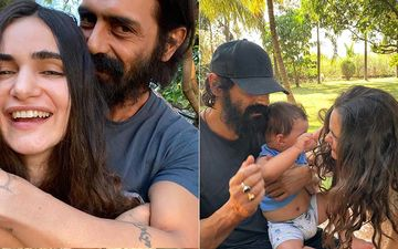 Gabriella Demetriades-Arjun Rampal Are Spending Lockdown In Karjat For Son Arik's Safety; Take A Look At Their Lavish Home