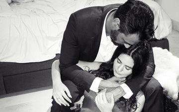 प्रेग्नेंट गर्लफ्रेंड के साथ लंच डेट पर पहुंचे अर्जुन रामपाल, सफ़ेद टॉप में दिखा बेबी बंप