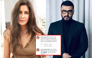 Katrina Kaif Puts Up A Sultry Picture, But It's Arjun Kapoor's Hilarious Comment That Demands Your Attention