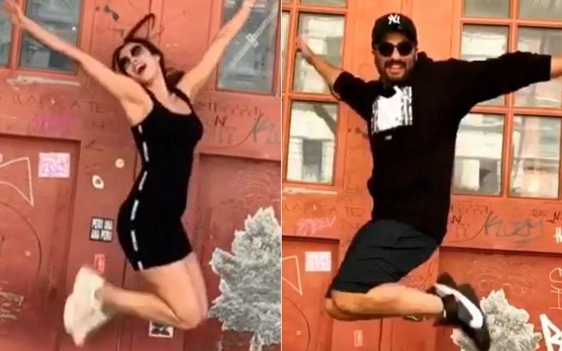 "Malaika Arora And Arjun Kapoor's Boomerang Videos From Tribeca Are All Heart, ""I Make You Look Good,"" Malaika Tells Her Beau"