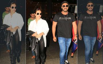 Lovebirds Malaika Arora And Arjun Kapoor Are Back Post Their Romantic New York Getaway