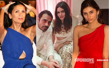 Arjun Rampal Heaves A Sigh Of Relief? No Wife Mehr, Only Daughter Mahika At His Sister Komal's Beauty Clinic Launch