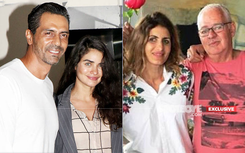 Arjun Rampal's Girlfriend Gabriella Demetriades' Parents Arrive In Mumbai, Family Prepares To Welcome Their Grandchild- EXCLUSIVE