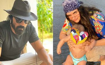 New Year 2020: Arjun Rampal, Gabriella Demetriades And Son Arik Enjoy The Sun, Sand And Sea At Their Beach Holiday