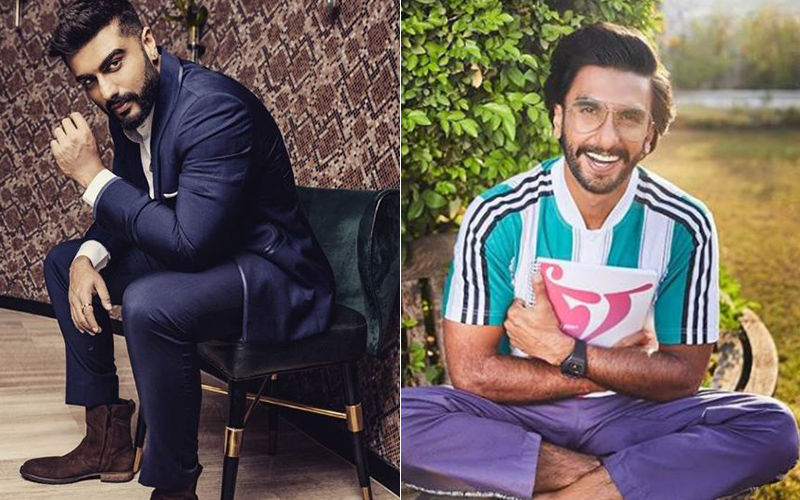Arjun Kapoor's Hilarious Message For Ranveer 'Baba' Singh Will Crack You Up - Bromance Peaks