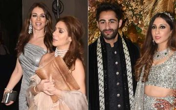 Armaan Jain Wedding Reception: Hollywood Actress Elizabeth Hurley Graces The Party In A Drop-dead Gorgeous One-Shoulder Dress