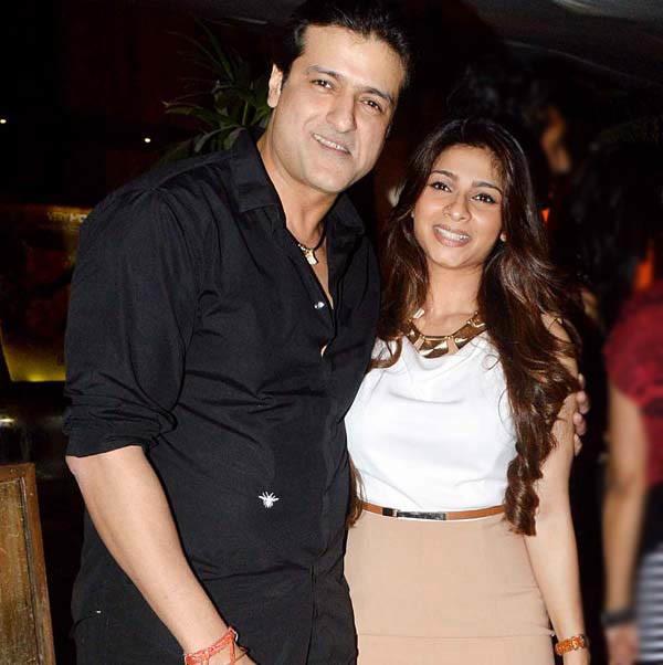 Armaan Kohli With Tanisha