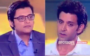 Hrithik Roshan Begins To Open Up About Kangana Ranaut With Arnab Goswami
