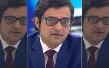 Arnab Goswami Chants 'Vande Mataram' After Being Released From Taloja Jail, A Huge Crowd Gathers Around Him - VIDEO