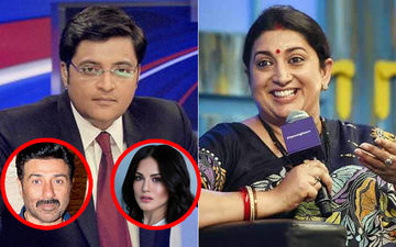 LOL! Smriti Irani Guffaws Over Arnab Goswami's Sunny Leone And Sunny Deol Mix-Up