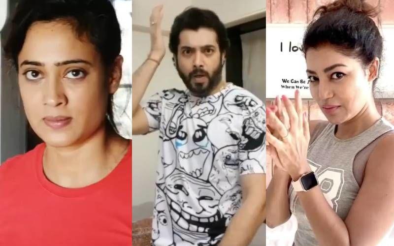 Shweta Tiwari, Debina Bonnerjee, Sharad Malhotra's Fans Ask 'Why Promote Domestic Violence' As They Take Up Hit Me Challenge