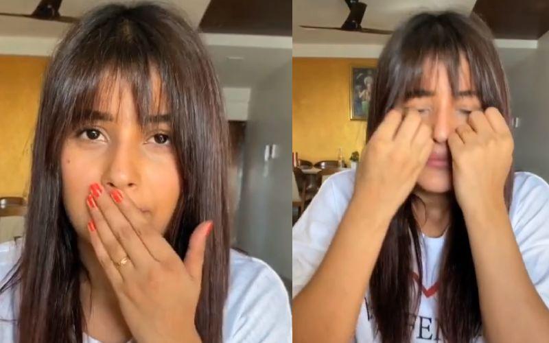 Shehnaaz Gill Weeps Thinking Of Having A Mustache Post Lockdown; Curses Men In This Hilarious TikTok Video - Watch