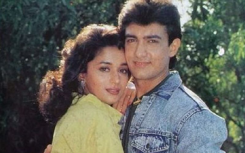 When Aamir Khan Spat On Madhuri Dixit And Made Her Run Behind Him In Anger