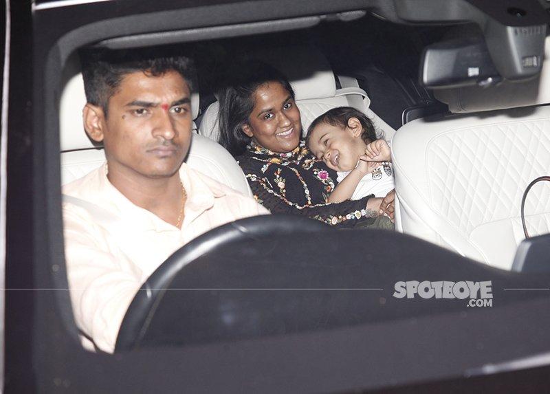 arpita and aahil at salim khan s birthday bash