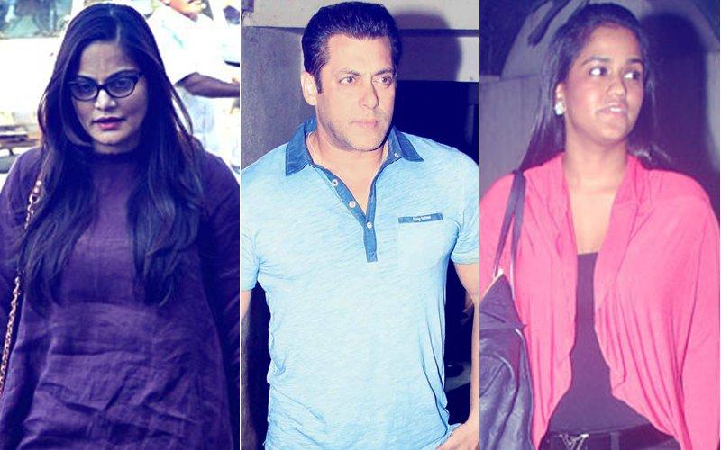 VIDEO: Salman Khan Reaches Mumbai With Arpita & Alvira