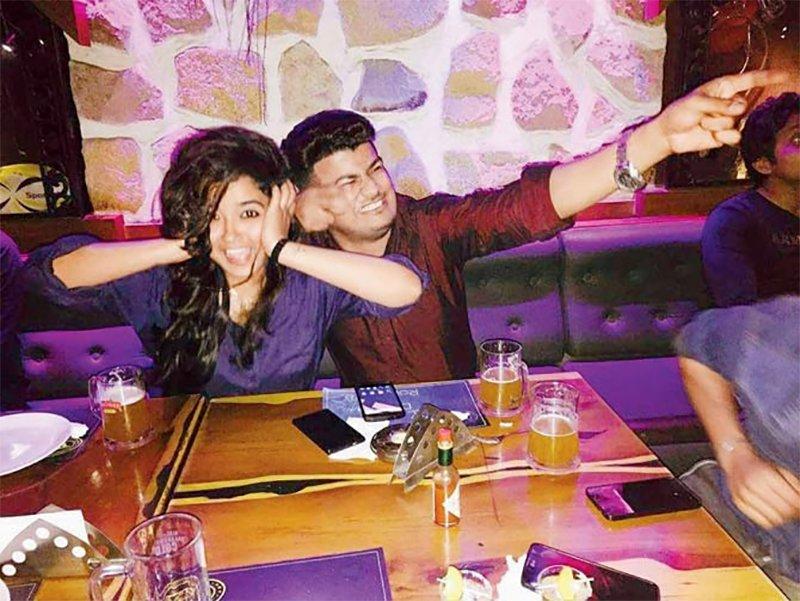 arpita tiwari with boyfriend pankaj jadhav