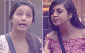 Bigg Boss 11: Arshi Khan Calls Hina Khan LOW CLASS