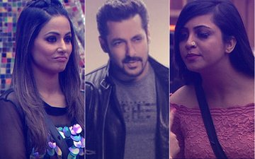 Bigg Boss 11, Weekend Ka Vaar: Salman Khan BLASTS Hina Khan For Claiming Arshi Khan SPIT On Her