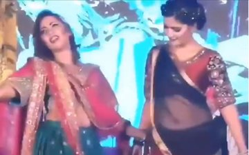 Watch: Bigg Boss 11's Arshi Khan & Sapna Chaudhary Burn The Dance Floor With Their Thumkas