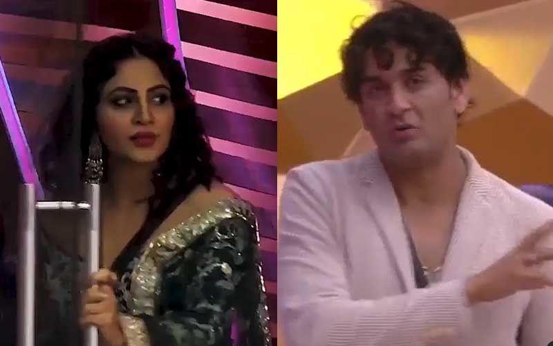Bigg Boss 14: Challenger Arshi Khan Targets Vikas Gupta; Two Get Into A Verbal Spat, Khan Tells Him 'Sympathy Gain Mat Karo'