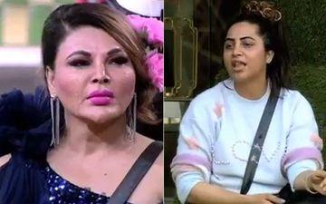 Bigg Boss 14: Rakhi Sawant Tells Arshi Khan 'Teri Kafan Ka Kapda Milega' When She Asks For Something In Return For Cleaning The Bathroom