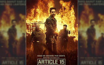 Article 15 Box-Office Collection, Day 1: Ayushmann Khurrana Receives A Warm Welcome Yet Again!
